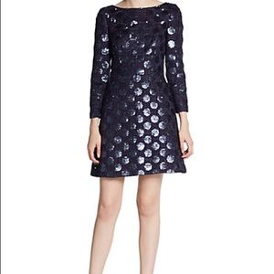 New w/tags! Jill Jill Stuart Sparkling Navy Dress
